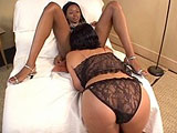 Tiffany and Drew, two hot young ladies, are absolutely in love with the taste of each other's pussy.  They take turns tongue and finger fucking one another into multiple orgasms.