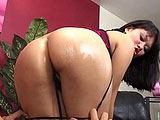 This sexy Asian is Kiwi Ling.   This guy is quick to bury his face in her ass and eat her hole.  She tries to suck his cock but her man is doing a great job on her goodies.  She mounts up and bounces on his cock cowgirl style and gets pounded in mish.  A few more positions and some toe sucking, and