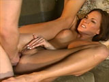 Clip features a really horny chick.  After pulling a few items out of her ass, a horny chick named Venus gets eaten out.  She sucks and fucks for a bit, and then she takes a weenie up her crapper.