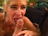 A mature blonde is having her old pussy pounded. She is old, but she still has a big appetite for cock. 