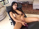 Jay Lo Deeva, a sexy Asian, is young, but she can ride one mean cock for a 19 year old.  She starts us off a hot little masturbation intro, and then gets fucked by a big hard cock.