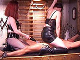 Mistress Lita has herself a new little bitch that needs to learn his place.  She starts slow, but by the end he is screaming for mercy.