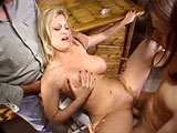 Brooke, a hot and horny housewife, is getting fucked by a big dick porn star as her husband watches in excitement. This good wife will do whatever is necessary to put a smile on her hubby's face.