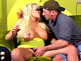 Pamela Peaks, a big tittie blonde, is so horny for a hard cock.  It nice to watch Pamela's huge boobs bounce around as she takes it.