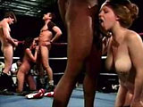 A bunch of girls are in a boxing ring to suck a fuck load of dicks to find out who the best cock sucker really is.  Everyone is a winner with a shit load of cumshots at the end.