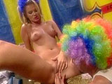 Nina, a hot blonde, is having her hot box stuffed with a big dick. She sucks and rides her way into a nice big shot of cum all over her sexy ass.