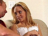 Lisa Parks, a cute young blonde, is super excited.  She gets to be in a new adult film, but she has to go through an audition first.  Her audition begins by placing a big hard dick in her mouth.  After showing her cock sucking ability, she gets her pussy pounded in numerous positions.  She gets a bi