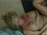 In this scene, Karen Fisher, (a.k.a. Cassandra), shows off her skills and cans.  Her man eats her shaved slot and she returns the favor.  They fuck on the floor and he drops a load between her big tits.