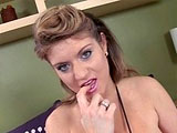 Hot brunette, Tyla Wynn, is introducing a hard dick to her throat and pussy hole at the same time. Watch these guys take turns pummeling her fuck pits before jerking man sauce all over her face and titties.