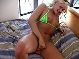 Consider your self lucky to be able to watch Tatianna Stone's first scene ever. While interviewing her, the cameraman observes every inch of her gorgeous body. You're going to love her perfect natural tits.  After giving a nice hummer, she fucks him doggy style. When he's ready to blow his loa