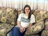 This is the casting couch audition of 19 year old Halley.  She is a stripper by trade, but doesnt seem all that comfortable taking her clothes off.  When she finally takes her clothes off, we see that she has some serious roast beef curtains going on.
