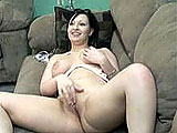 Angelica Meow masturbates at least once per day.  Today she does it on camera.  She pulls off her bra and panties and gets to work diddling herself.  Angelica rubs her clit and fingers her pussy until she gets off.