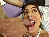Nancy Vee is an older milf that still likes to get fucked in the ass.  She starts off by inserting her anal intruder in her ass while rubbing her pussy.   A guy shows up and she sucks his cock while continuing to use the dildo on her self.  She gets on all fours and takes it from behind in her pussy