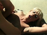 This British babe is Layla Jade.  Even though she says she would never let someone shit on her face, she does give up the poop chute easily.  Watch her get fucked in the ass out by the pool and take an open mouth facial.