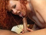 Hottie, Audrey Hollander, is horny and super wet for this guy's beefy cock. She immediately starts hogging the guy off before getting fucked in her ass. After the hot anal pounding, the dude blows his load of man batter into her wet box.