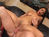 This Asian butt slut doesnt fuck around. She gets naked quickly and bends over, cramming one cock far into her mouth and opening her butthole wide for another guy to ram her in the can. She is a loud, mouthy screamer, but her moans of delight are muffled by the thick sausage filling her throat. D