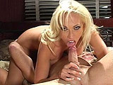 After some opening bull, we see mother-fucking hot blonde Nicki Hunter sliding her throat up and down a big meat-stick. She spreads her bald taco for the dude's meat-missile next. After a long, deep dicking, she jerks a sticky treat out of his cock.