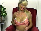 This scene stars the sexy and busty Catalina LaMour.  She talks dirty to the camer while stripping off her clothes to reveal her beautiful breasts.  Catalina plays with her tis and twat to get herself and you off.