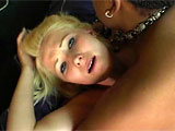 A tiny girl with little tits and a hot ass entices a dread locked black guy. He checks her pussy moisture level with his fingers and then stuffs his tongue inside. Shes got a petite little twat too, and he fucks it hard. He nails her so deep, in fact, that when he pulls out at one point, she squi