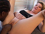 An old chubby slut named Jules gets it on with Tony Eveready, a black stud. He starts things off by chowing down on her mature cunt.  He licks her entire nether region clean, including her asshole.  He also pumps his fingers in and out of her twat.  She returns the foreplay, and proceeds to slurp on