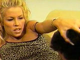 Sexy blonde, Tabitha Stevens, is getting her perfectly round tits sucked. After a good pussy tonguing, she gives the dude some throat loving. Then, she rides his erection in some great positions. At 15 minutes in, she let lose a river of pussy juice.