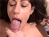 Blowjob after blowjob await you in this multi scene extravaganza of oral. These broads must be starving, because every one of them is working hard with her lips and tongue, bobbing up and down and slobbering all over to pull out the gallons of cum she desires. Lots of facial shots, cum guzzling and 