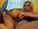 A nasty cougar, Sindy Lange, rubs at her pussy under her lingerie.  She pulls her nice melons out of her bra, and gets ready for a super drilling. When the guy comes in, the two of them exchange oral and skip on to some intense sexual loving.