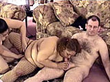 This amateur scene has fatties Lulu and Nikki sharing a guy.  They lick and suck his dick, and then Lulu finger fucks Nikki while she continues to suck the guy.  Nikki is fucked first while Lulu sits on her face, and then Lulu gets her turn from behind while eating out Nikki.