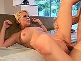 I've never see a girl enjoying monster cock as much as Missy Monroe! She's swallowing it like a fucking junky, and won't be satisfied without a deep anal pounding!
