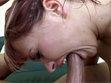 Katja Kassin is already balls deep into a sloppy blowjob when this scene starts.  She rides that cock out on the patio, and then they go inside for some ass eating fun and more pussy pounding.  Katja takes it in the ass, sucking, her juices off that dick.  She gets a huge load blasted all over her f