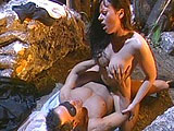 All sexy Jewel DeNyle has to do is take the Devil's seed.  However, I think the devil dude is going to find it a little hard to make devil babies if he keeps fucking Jewel's asshole.  Shooting his massive load into her mouth at the end really doesn't help his cause that much either.  Anyways, sh