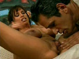 A hot blonde, Devon Michaels, is slobbing a big hard knob.  The rest of the movie is spent watching her take cock and squirting all over the room before getting a facial.