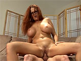 Kitty Lynxx fantasizes about fucking her new stepson.  She seduces him one day on the couch, and soon has him eating her pussy.  Kitty returns the favor, taking his cock down her throat.  She gets her pussy pumped hard and takes a jizz bomb to her glasses.