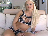 The unbelievably hot, blonde Sanna is visiting from Scandanavia and she's ready for some all American DP action. Two guys take her on, plunging their dongs into her pussy and asshole, plugging her deep. She's a pro at the super naughty porno, but her body looks incredibly tight and firm. Must be