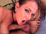 Hot brunette, Tory Lane, is getting ass fucked hard. First, she takes down all of the dude's massive cock with ease. After choking on his meat pacifier, she gets her ass pounded in numerous positions.
