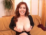 Sexy Mae Victoria just looks like she'd be a fun fuck, but maybe that's because I love redheads. After showing off her well aged body, a guy steps right in and slides his cock to the back of her throat. Watch as this guy impales her shallow twat with his stiff dick prior to busting a nut in her