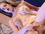 Crissy Cums is a squirter, but unlike her squirting counterparts, this horny slut has gallons of lady juice waiting to explode at the camera and all over her guy. They use the leftover spray from her spewing pussy to lube up her back door, and she stretches her pooper around his thick, throbbing coc