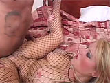 This scene features the lovely Sophie D.  She gets into some 69 with her co-star, taking his big black dick down her throat while he eats that sweet white pussy.  These two fuck like rabbits on the cheap hotel bed and Sophie takes it in both her pink pussy and tight, little asshole before gulping do