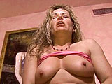 This scene starts with older broad, Kelly Leigh, already with a cock in her mouth.  These two old people suck and fuck in a few positions and Kelly asks for the guys cum in her mouth.  She swishes it around and chugs it down.