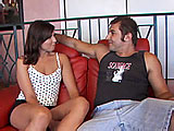 Melanie Scott is just like any chick that loves a foreign accent.  Here, she wants to check out this Australian's Ayers Rock.  The guy first licks and sucks on her perky little tits, and then she gets what she is after and plays his digere doo.   After sucking his cock, the guy eats her ass and pu