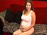 Brooklyn is 6 months pregnant and is horny as ever. She looks great, only showing in the belly, but her tits, ass and thighs are firm and fantastic. Brooklyn does a solo show for you, using a big, buzzing vibrator to stimulate her clit and satisfy her hormones. She's still quite agile too, getting