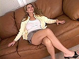 Sexy milf Darien Ross is excited to make some extra money to put towards her kids college fund. Today, all she has to do is take a long hard fucking from a big black cock.