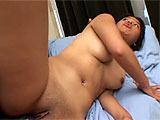 Makia has never been with a black guy before.  In this scene she gets her first.  And a big cock it is.  Watch her try to wrap her mouth around that big dick and get it crammed in her tight Asian twat.  After a few positions, Makia takes a load of the goo to her face.