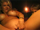 In this scene, Racquel Divine just got off work and is looking for some dick so she can relieve her stress.  She has the cabbie driver her around until she finds what shes looking for, teasing him along the way.  Racquel picks up a guy and starts sucking his cock in the back seat.  This horny slu