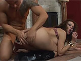 This hot and sexy Hungarian wants cock in her ass.  She first sucks it to get it hard and wet, and then gets it rammed in deep.  Watch her suck that cock dirty and get her asshole gaped open.
