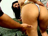 Hindira is a sexually repressed chick from India.  She has two guys to take care of that problem for her.  She sucks both of their cocks and gets her pussy licked.  They take turns fucking her and blow their loads on her face.