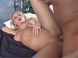 Vanessa Michaels gets herself warmed up in the parking lot with a dildo before getting with her stud indoors.  She gets him going with a nice blowjob while he fucks her with the toy.  These two go at it like rabbits and Vanessa fishhooks her mouth in anticipation of a load of jizz spewed in there.