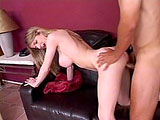 This sexy blonde goes wild on this dudes big hard dick! This horny girl really loves to suck and fuck.  Best of all, she takes a facial too!