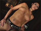 Dillan Lauren is a sexy law enforcement officer with a perp to punish.  She sucks on his cock to start, but the tables are turned when he gets out of his cuffs.  This guy punishes Dillans pink pussy and puckered asshole.