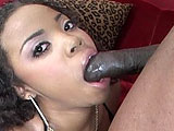 Stacie Lane works her mouth on big black dick and then gets the favor returned as the guy eats out her shaved pussy.  He pounds her pussy hard, but that just isn't enough for her.  Stacie uses a vibrator on her clit while getting pounded to ensure that she gets her rocks off.  When the guy is done